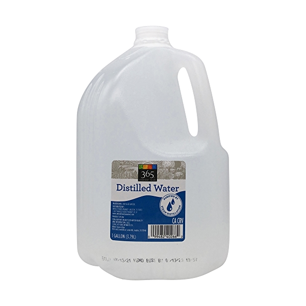 Distilled Water, 1 gallon 1