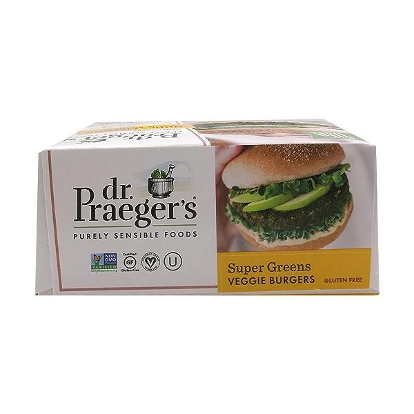 Super Greens Veggie Burgers, 2.5 oz 5