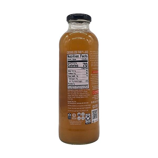 Mango White Tea, 16 fl oz 4
