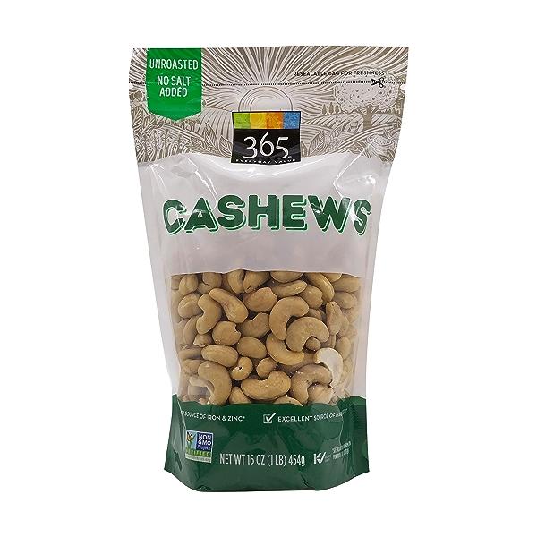Whole Cashews, 16 oz 1