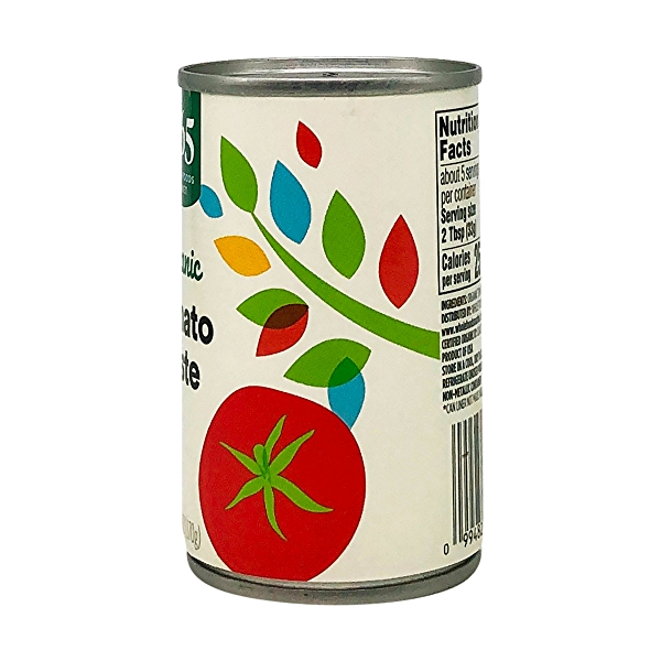 Tomato Paste, Organic, No Salt Added, 6 Oz. 3