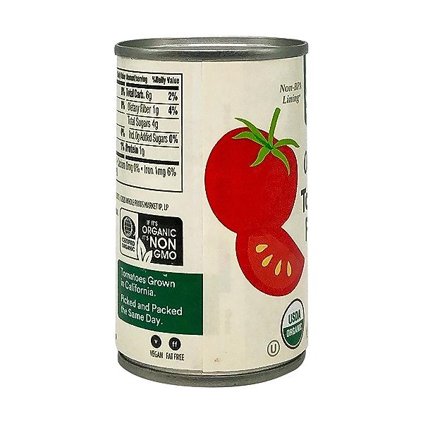 Tomato Paste, Organic, No Salt Added, 6 Oz. 7