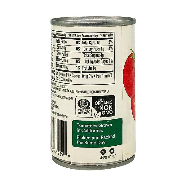 Tomato Paste, Organic, No Salt Added, 6 Oz. 6