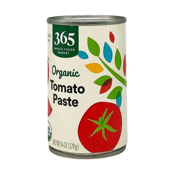 Tomato Paste, Organic, No Salt Added, 6 Oz. 2