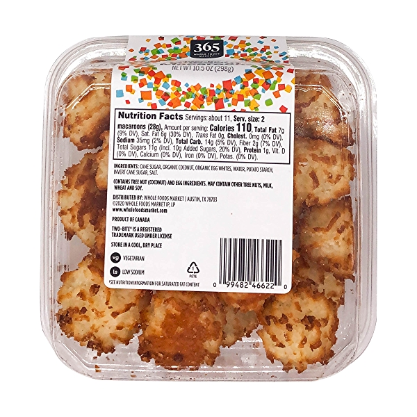 Two Bite Coconut Macaroons, 10.5 oz 6
