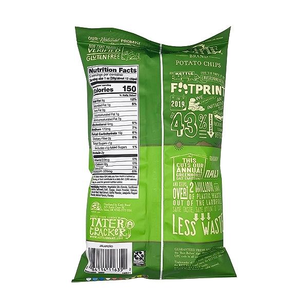Jalapeno Potato Chips, 5 oz 2