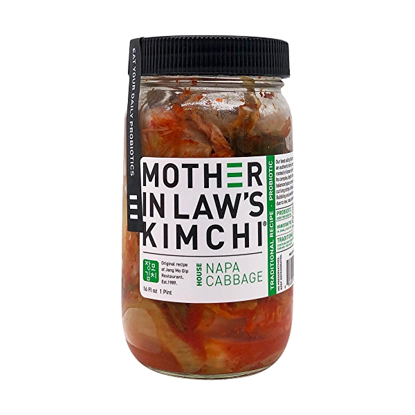 House Napa Cabbage Kimchi, 16 fl oz 1