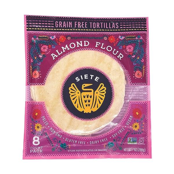 Almond Flour Amazing Grain Free Tortillas, 7 oz 1