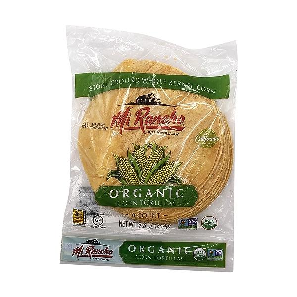 Organic Corn Tortillas, 9.3 oz 1