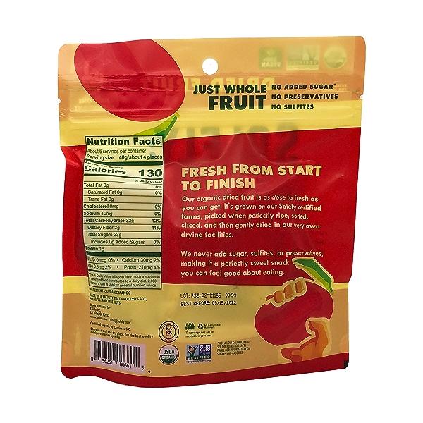 Mango Halves Organic, 8 oz 3