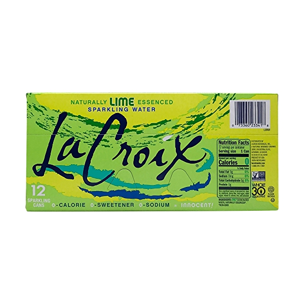LaCroix Lime Sparkling Water (12-pk) 6