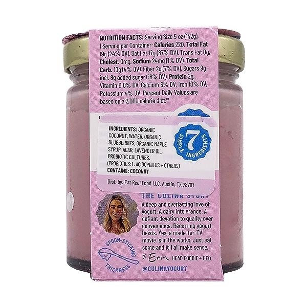 Coconut Yogurt Blueberry Lavender, 5 oz 3