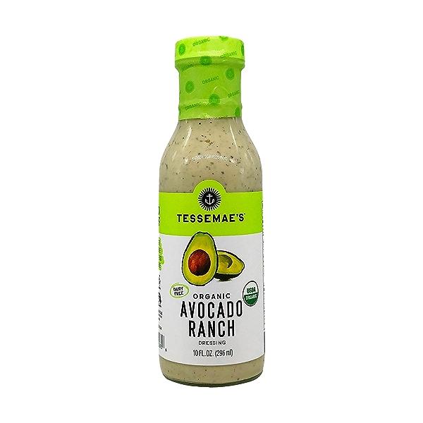 Organic Avocado Ranch Dressing, 10 fl oz 1