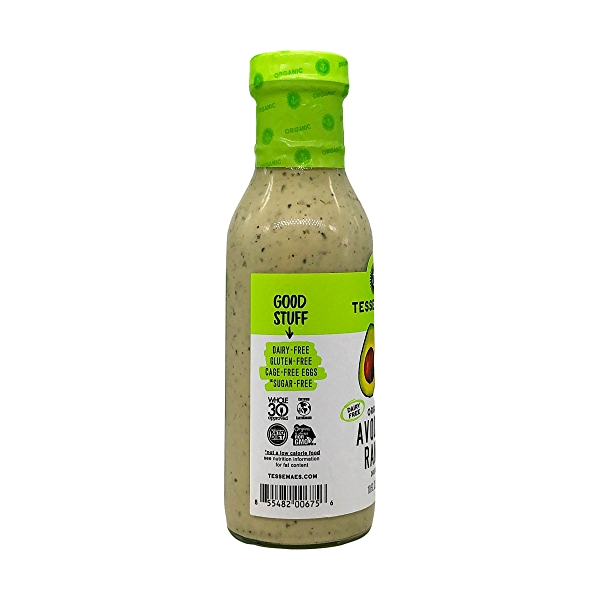 Organic Avocado Ranch Dressing, 10 fl oz 7