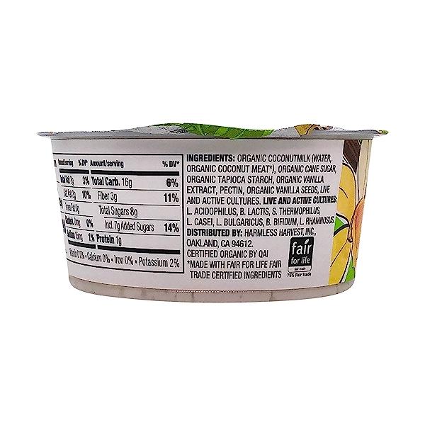 Vanilla Coconut Yogurt, 4.4 oz 6