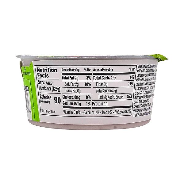 Strawberry Coconut Yogurt, 4.4 oz 5