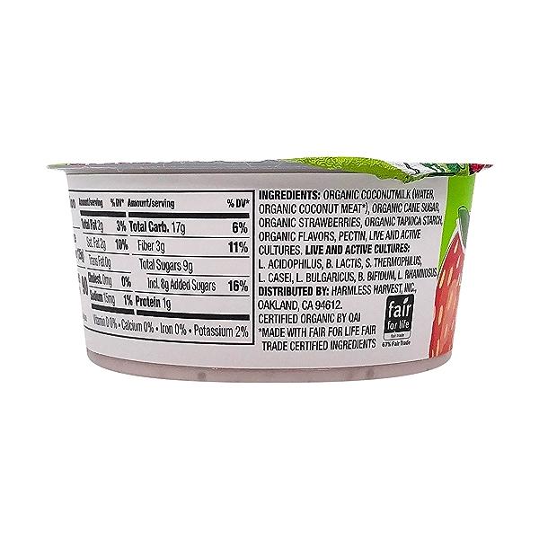 Strawberry Coconut Yogurt, 4.4 oz 6
