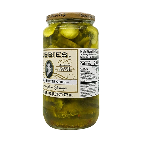 Bread And Butter Chips Pickles, 33 fl oz 2