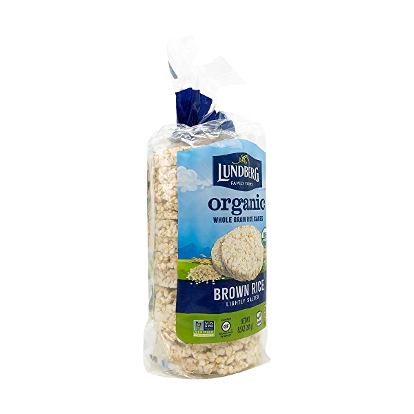 Organic Lightly Salted Brown Rice Cakes, 8.5 oz 8
