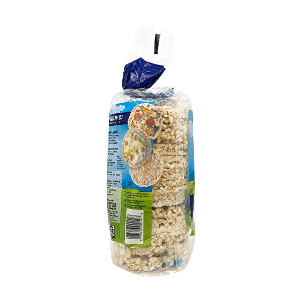 Organic Lightly Salted Brown Rice Cakes, 8.5 oz 6