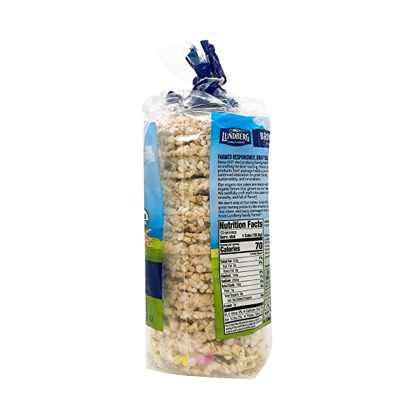 Organic Lightly Salted Brown Rice Cakes, 8.5 oz 3