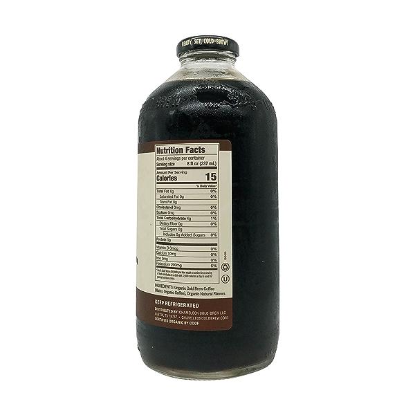 Organic Mocha Coffee Cold Brew, 32 fl oz 4