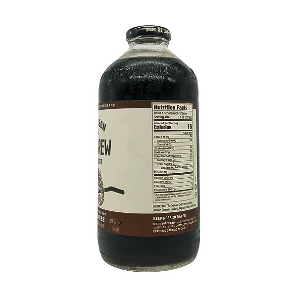 Organic Mocha Coffee Cold Brew, 32 fl oz 3