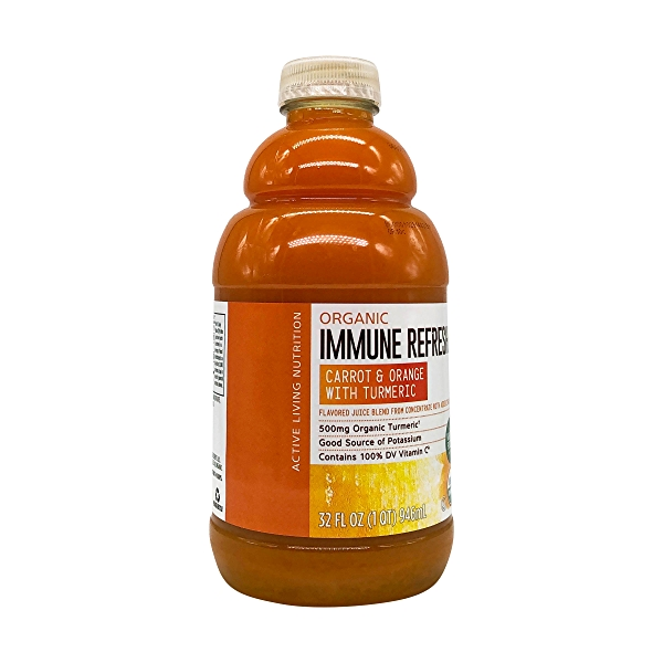 Organic Carrot Orange Turmeric Juice, 32 fl oz 8