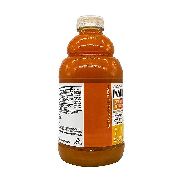 Organic Carrot Orange Turmeric Juice, 32 fl oz 7