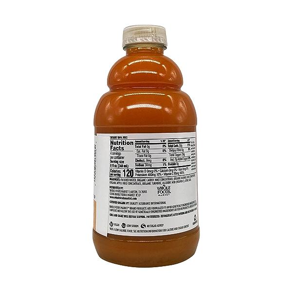 Organic Carrot Orange Turmeric Juice, 32 fl oz 5