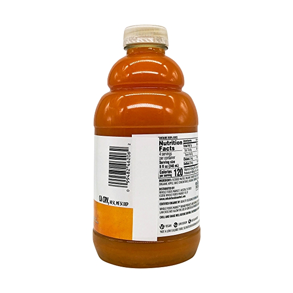 Organic Carrot Orange Turmeric Juice, 32 fl oz 4