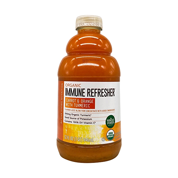 Organic Carrot Orange Turmeric Juice, 32 fl oz 1