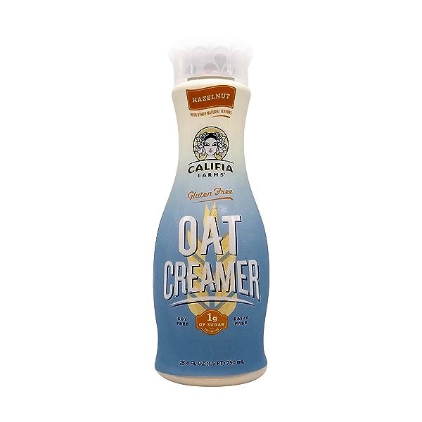 Hazelnut Oat Creamer, 25.4 fl oz 1