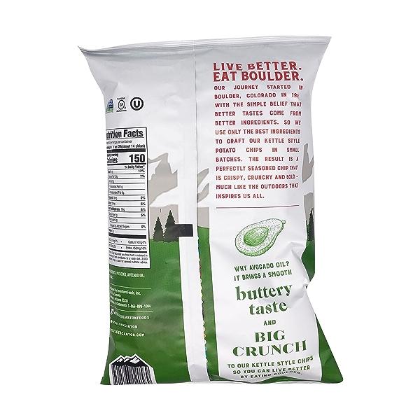 Avocado Oil Sea Salt Potato Chips, 5.25 oz 2