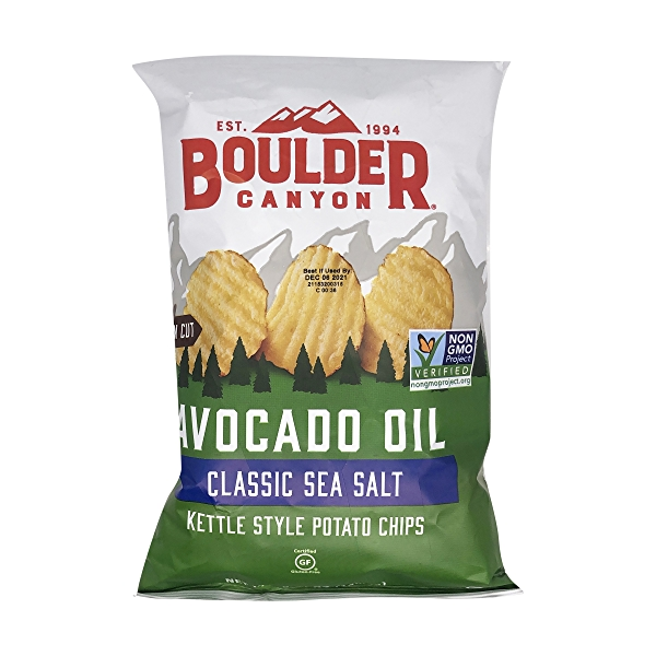 Avocado Oil Sea Salt Potato Chips, 5.25 oz 1