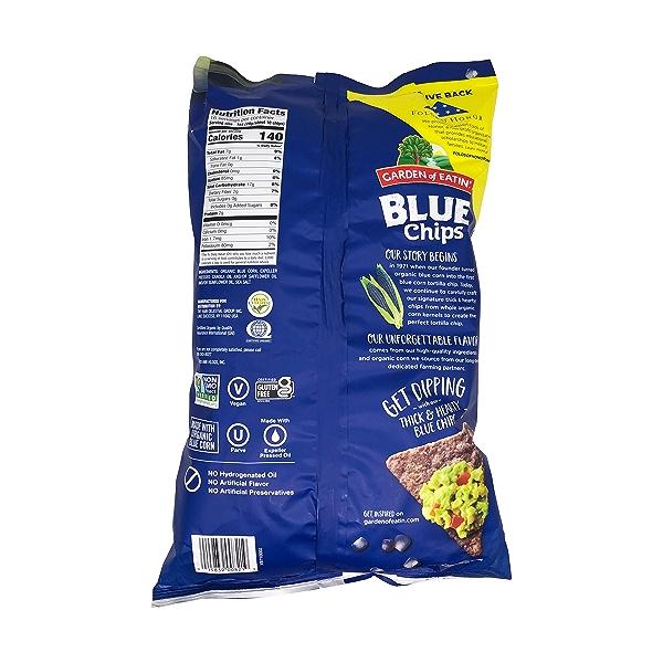 Blue Tortilla Chips, 16 oz 2
