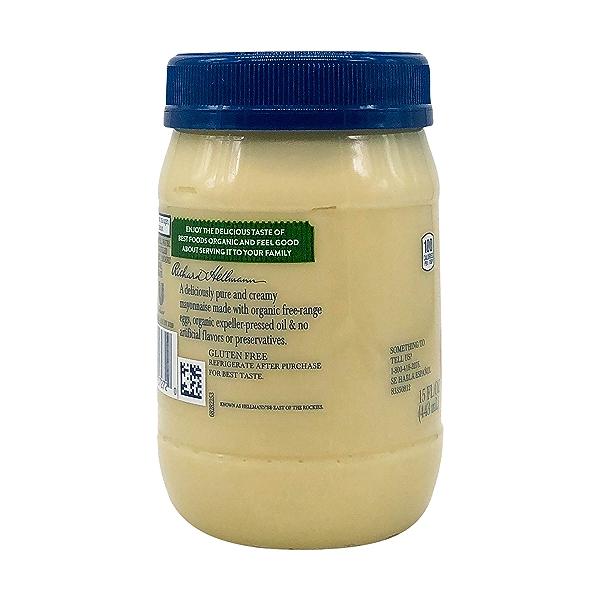 Organic Mayonnaise, 15 fl oz 6