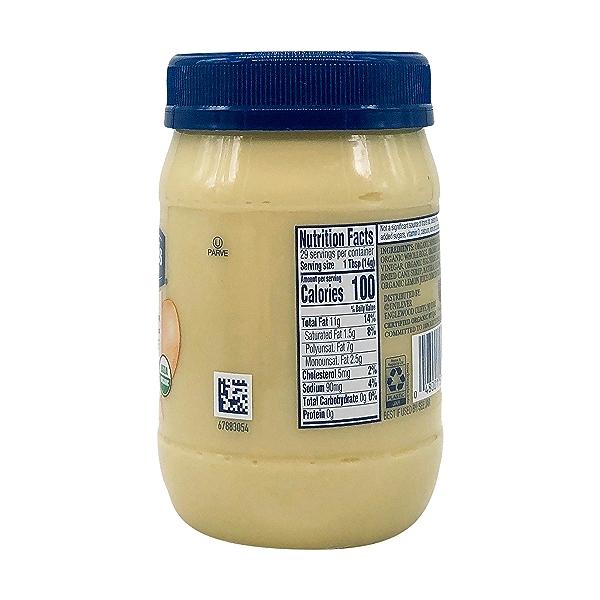 Organic Mayonnaise, 15 fl oz 3