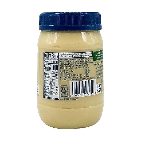 Organic Mayonnaise, 15 fl oz 4