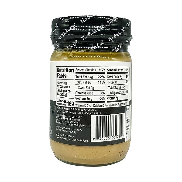 Creamy Cashew Nut Butter, 12 oz 4