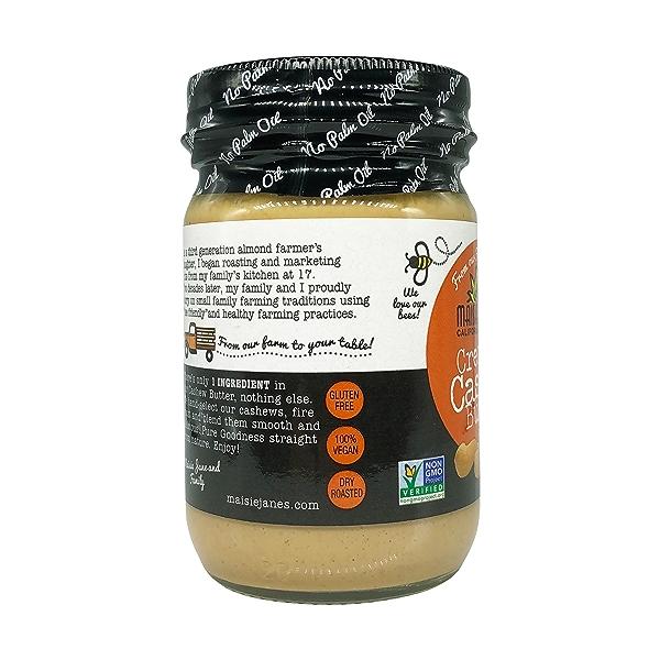 Creamy Cashew Nut Butter, 12 oz 7