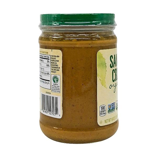 Organic Crunchy Light Roasted Peanut Butter, 16 oz 7