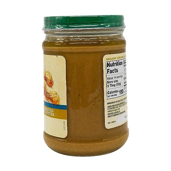 Organic Creamy Light Roasted Peanut Butter, 16 oz 3