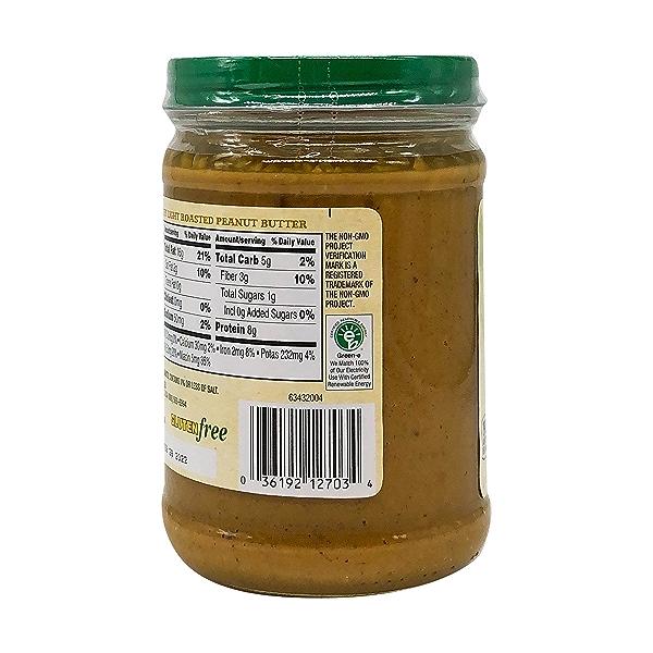 Organic Crunchy Light Roasted Peanut Butter, 16 oz 6