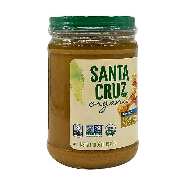 Organic Creamy Light Roasted Peanut Butter, 16 oz 8