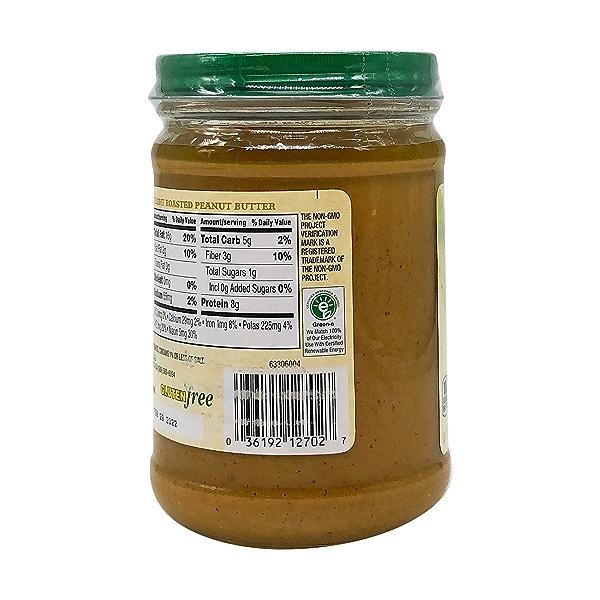 Organic Creamy Light Roasted Peanut Butter, 16 oz 6