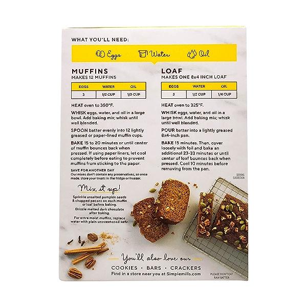 Pumpkin Muffin & Bread Almond Flour Mix, 9 oz 3