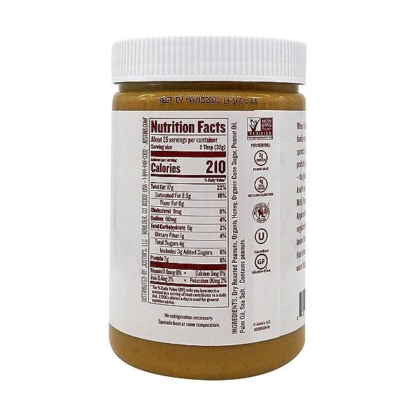 Honey Peanut Butter Spread, 28 oz 4