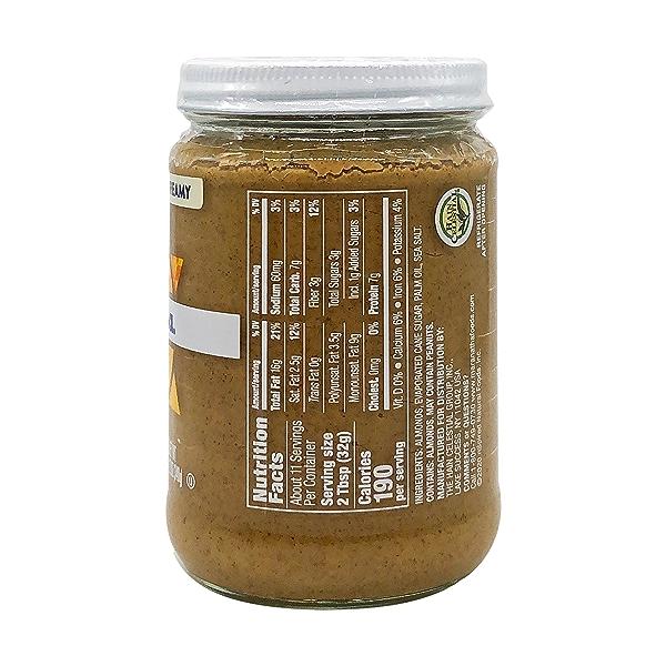 Creamy Almond Butter, 12 oz 3