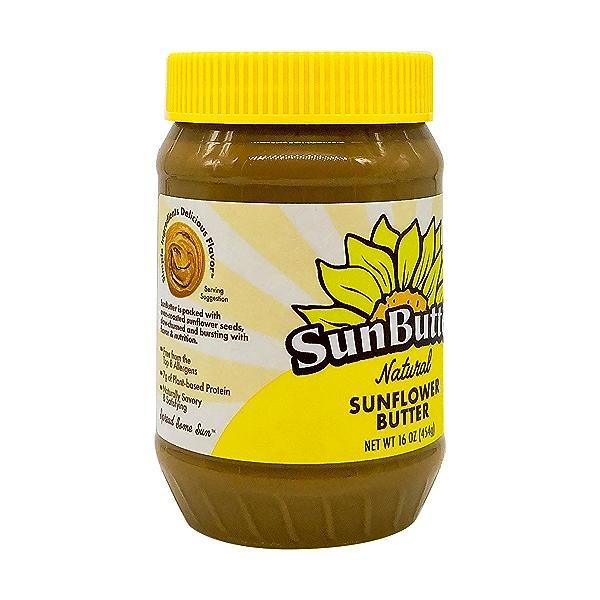 Natural Sunflower Butter, 16 oz 8